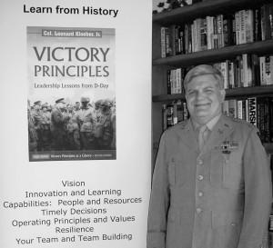 COL. Leonard Kloeber, Jr.  Author